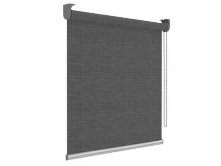 Decosol screen rolgordijn lichtdoorlatend 150x190 cm antraciet