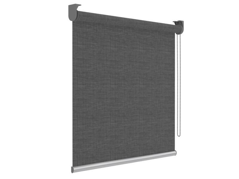 Decosol screen rolgordijn lichtdoorlatend 180x190 cm antraciet