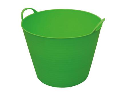 Toolland seau de jardin souple 24l vert