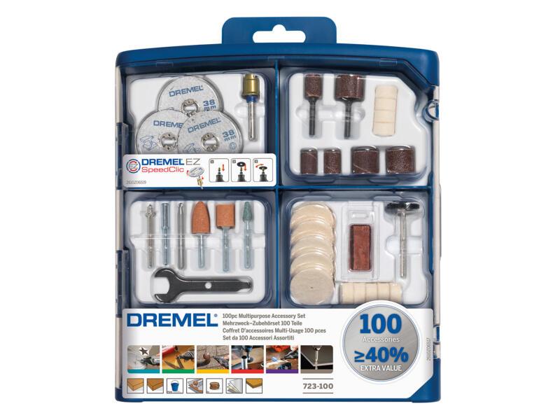 Dremel set d'accessoires 100 pièces
