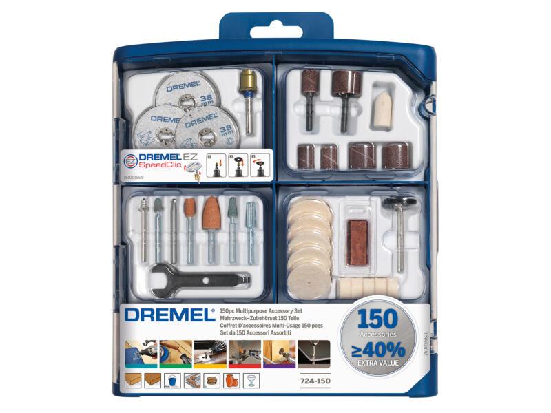 Dremel set d'accessoires 150 pièces