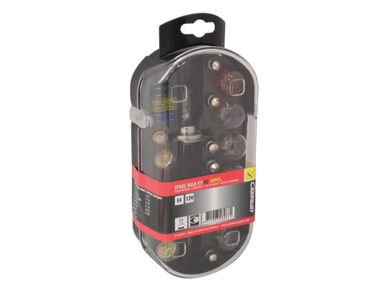 Carpoint set d'ampoules H7 55W 30 pièces
