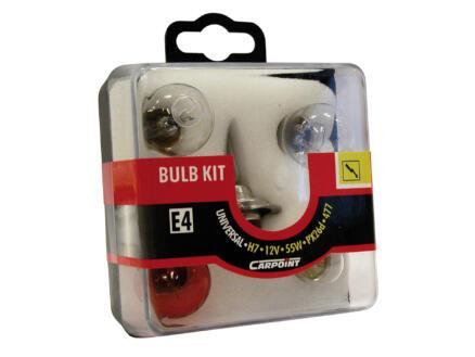 Carpoint set d'ampoules H7 55W 7 pièces