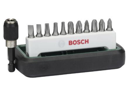 Bosch set d'embouts PH/PZ/SL/TX 12 pièces