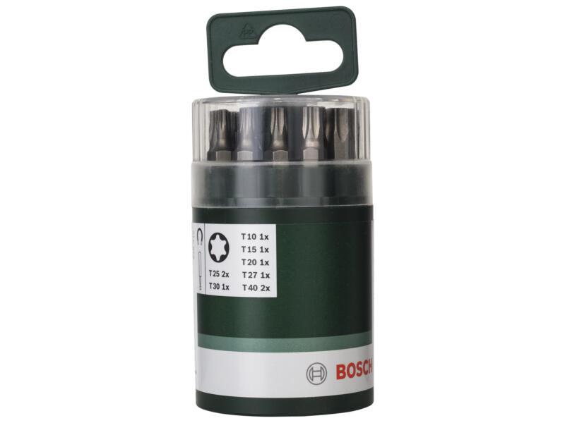 Bosch set d'embouts Torx 10 pièces
