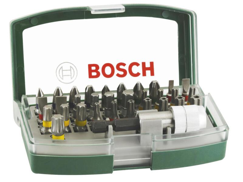 Bosch set d'embouts de vissage 32 pièces avec code couleur