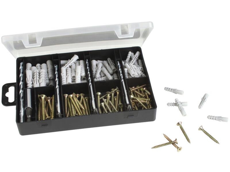 Bosch set de fixation 173 pièces