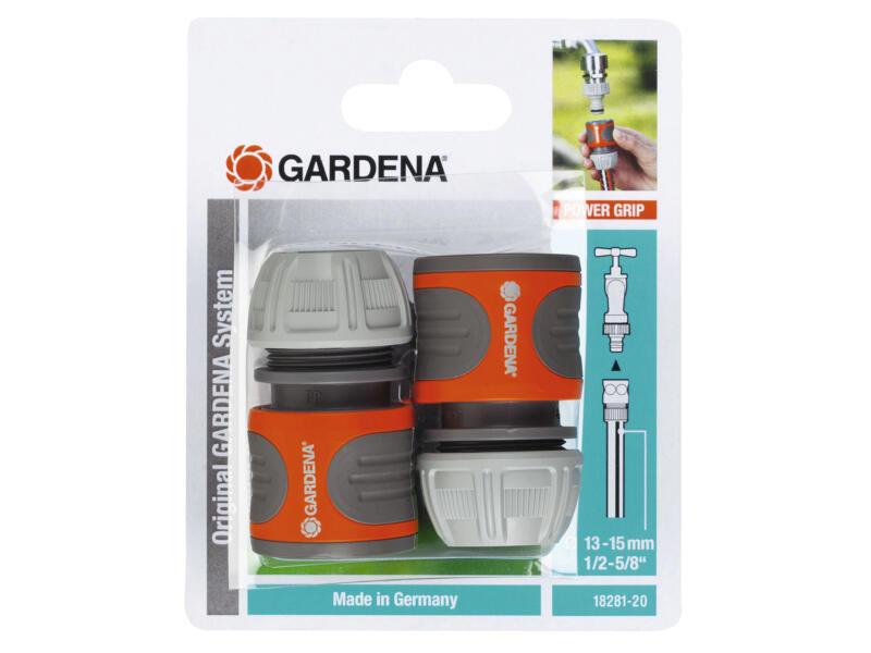 Gardena set de raccords rapides 13-15 mm (1/2