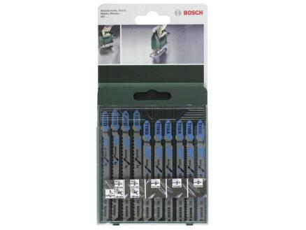 Bosch set decoupeerzaagbladen T metaal/alu 10-delig