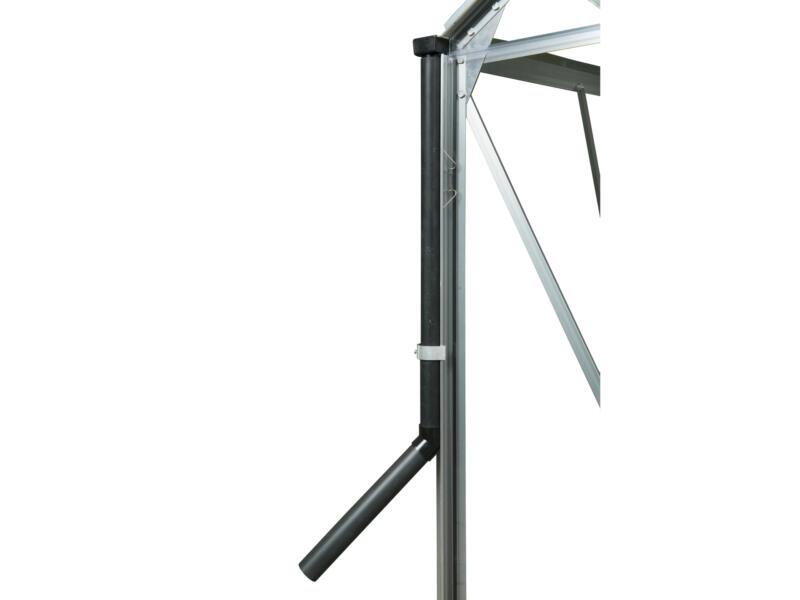 Royal Well set tuyau de descente pour serre Popular/Royal/Silverline 30mm noir 2 pièces