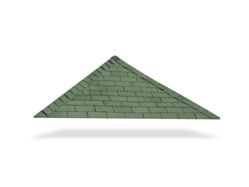 Gardenas shingles 12m² vert