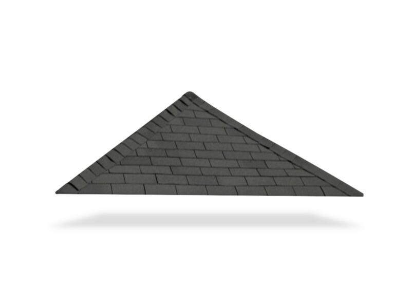 Gardenas shingles 33m² noir