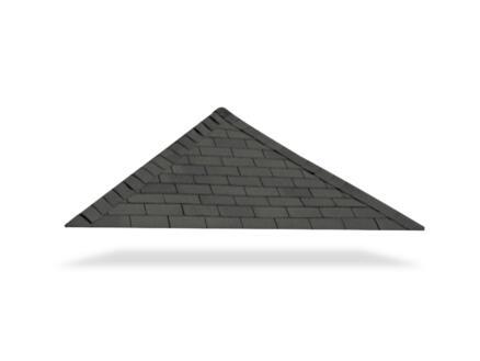 Gardenas shingles 3m² zwart
