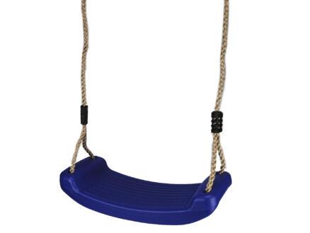 Gardenas siège de balançoire 40cm bleu
