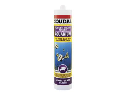 Soudal siliconenkit aquarium 310ml transparant