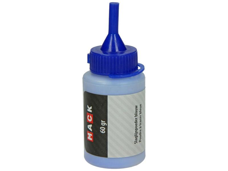 Mack slaglijnpoeder 60g blauw