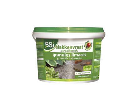 Bsi slakkenvraat strooikorrels 2,5kg