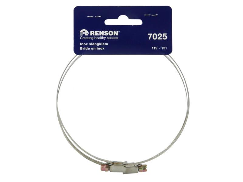 Renson slangklem type 7025 119-131 mm inox