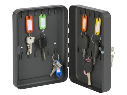 Practo Home sleutelkast 25x18x6 cm 24 sleutels