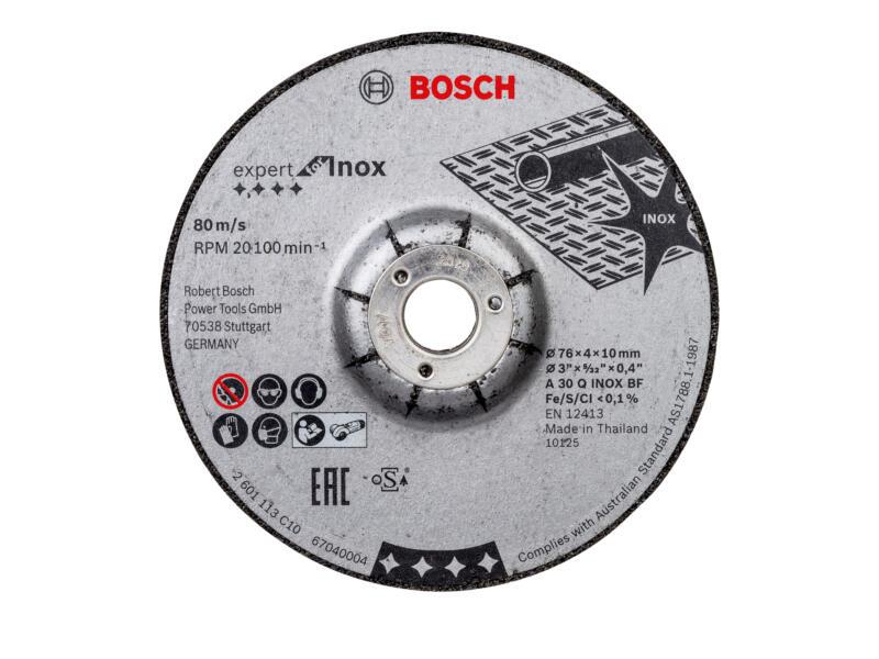 Bosch slijpschijf inox 30,76x4x10 mm 2 stuks
