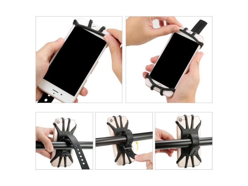 Maxxus smartphonehouder fiets zwart