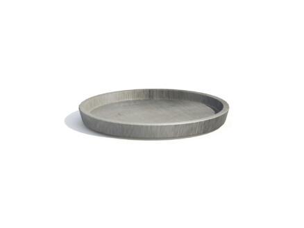 Ecopots soucoupe 50cm gris