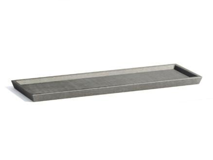 Ecopots soucoupe 58x19 cm gris