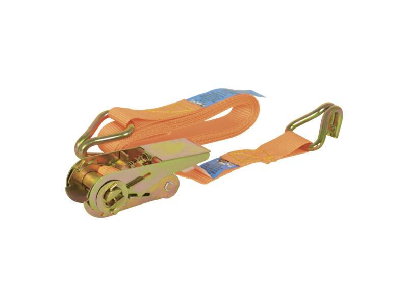 Carpoint spanband met ratel en haken 3m 350kg