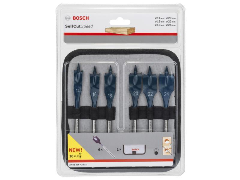Bosch Professional speedborenset 14-24 mm 6-delig