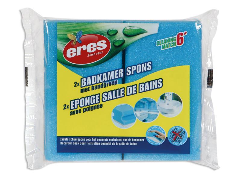 Eres spons badkamer met handgreep 2 stuks