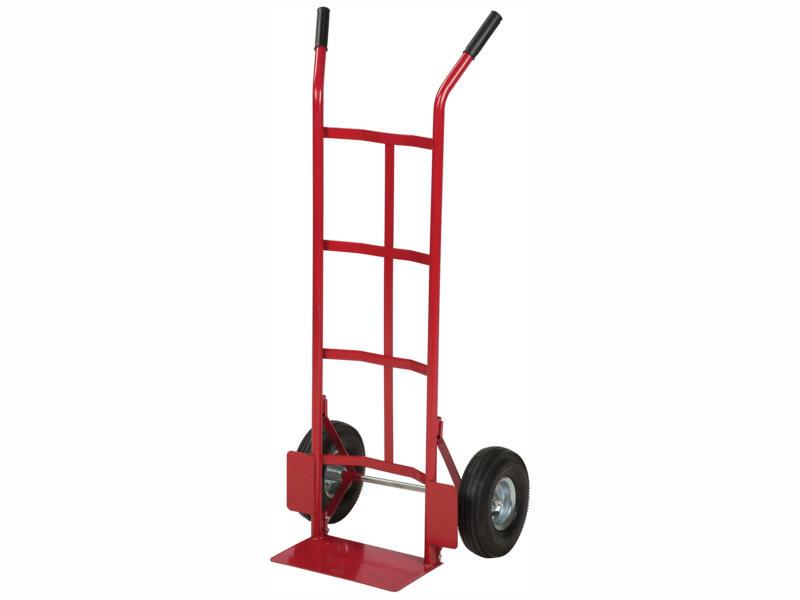 Practo Home steekwagen 150kg staal rood