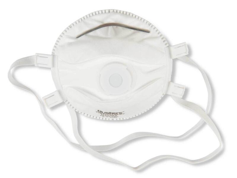Busters stofmasker met ventiel FFP3