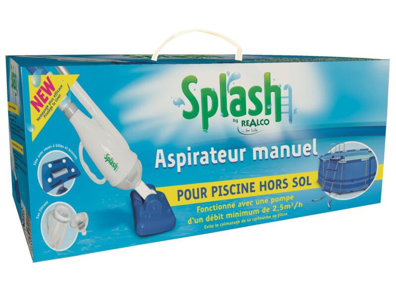Splash stofzuigkit voor zwembad