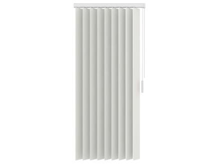 Decosol store à lamelles verticales occultant 89mm 150x180 cm blanc