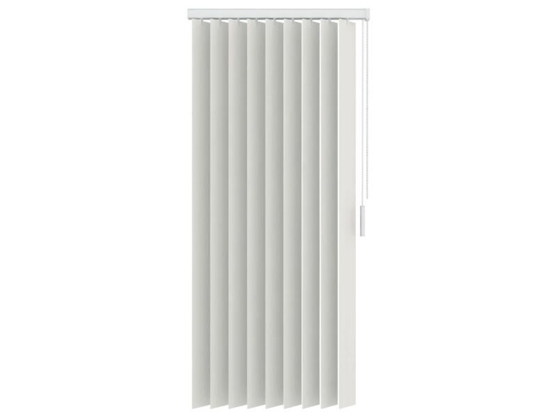 Decosol store à lamelles verticales occultant 89mm 200x250 cm blanc