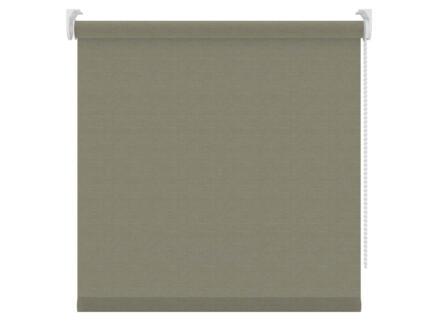 Decosol store enrouleur tamisant 60x190 cm gris clair aspect lin