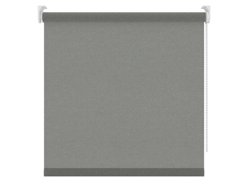 Decosol store enrouleur translucide 150x190 cm gris structure