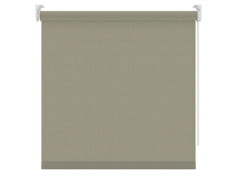 Decosol store enrouleur translucide 60x190 cm brun clair