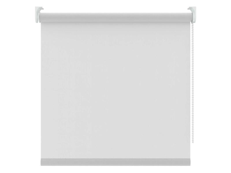 Decosol store enrouleur transparent 180x250 cm blanc