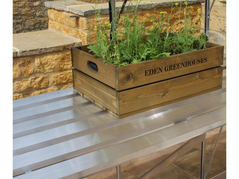 Royal Well table de culture serre Bourton 2010 gris