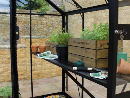 Eden table de culture serre Bourton 2010 noir