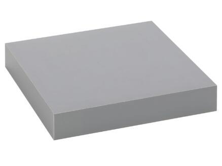 Practo Home tablette murale 23cm gris