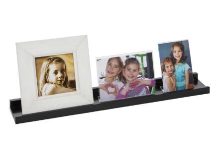 Practo Home tablette murale pour cadre photo 60cm noir