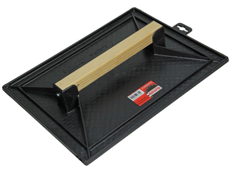 taloche gaufrée 35x27 cm polystyrène noir
