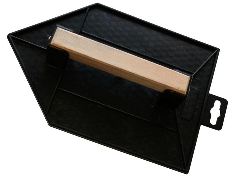 Toolland taloche gaufrée pointue 27x17 cm matière synthétique