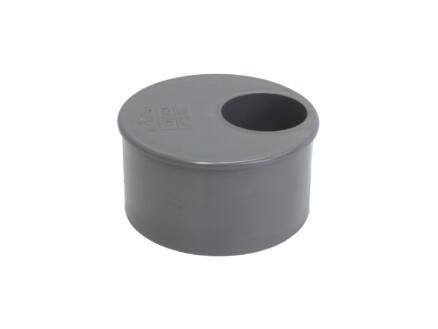 Scala tampon de réduction 75mm/32mm PVC gris
