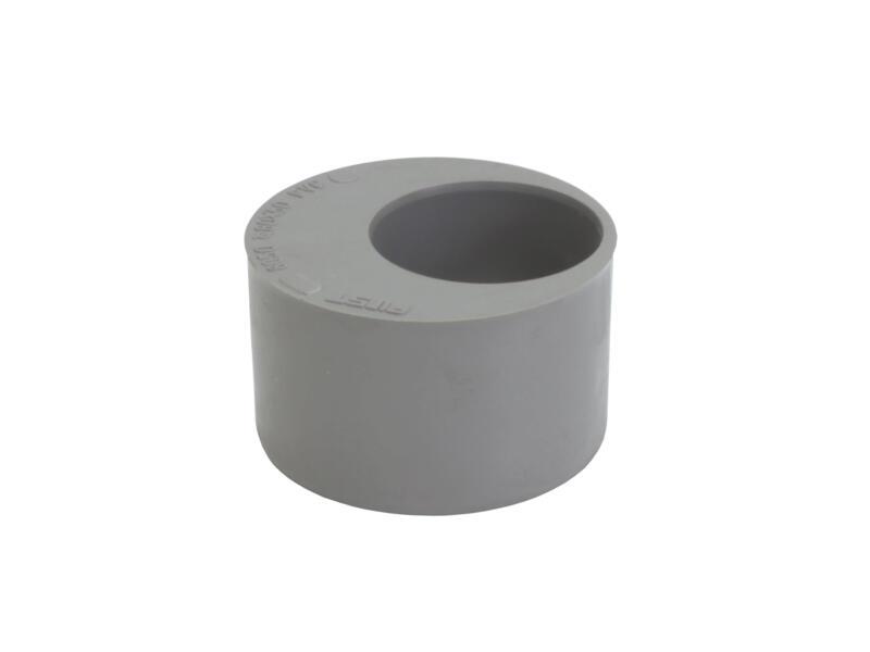 Scala tampon de réduction 80mm/40mm PVC gris