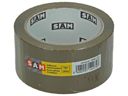 Sam tape d'emballage 66m x 50mm brun