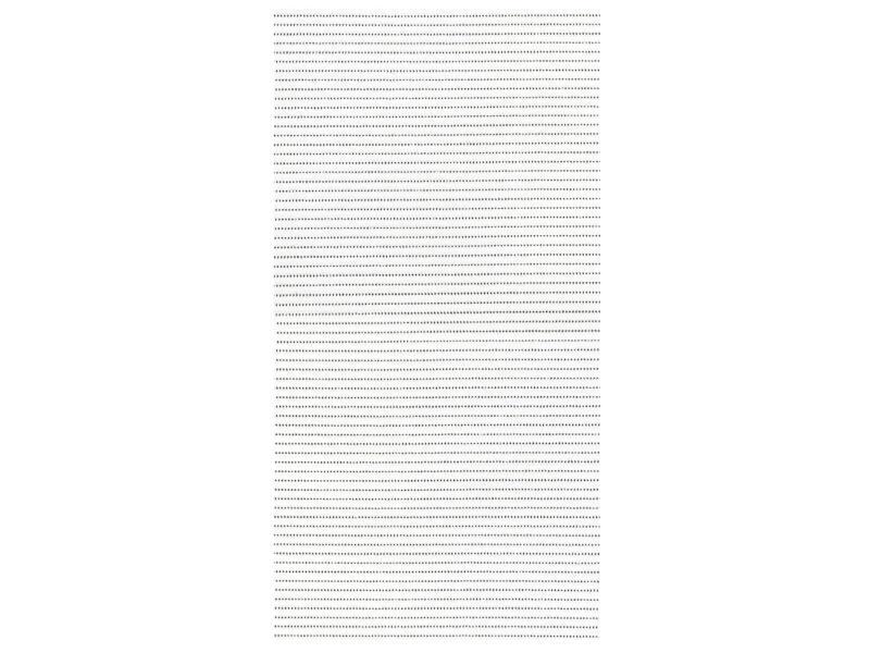 Finesse tapis de bain 80x50 cm blanc