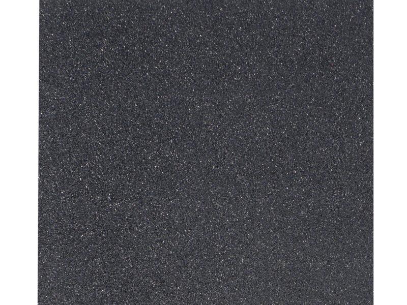 Gardenas tegel 50x50x2,5 cm 0,25m² rubber zwart